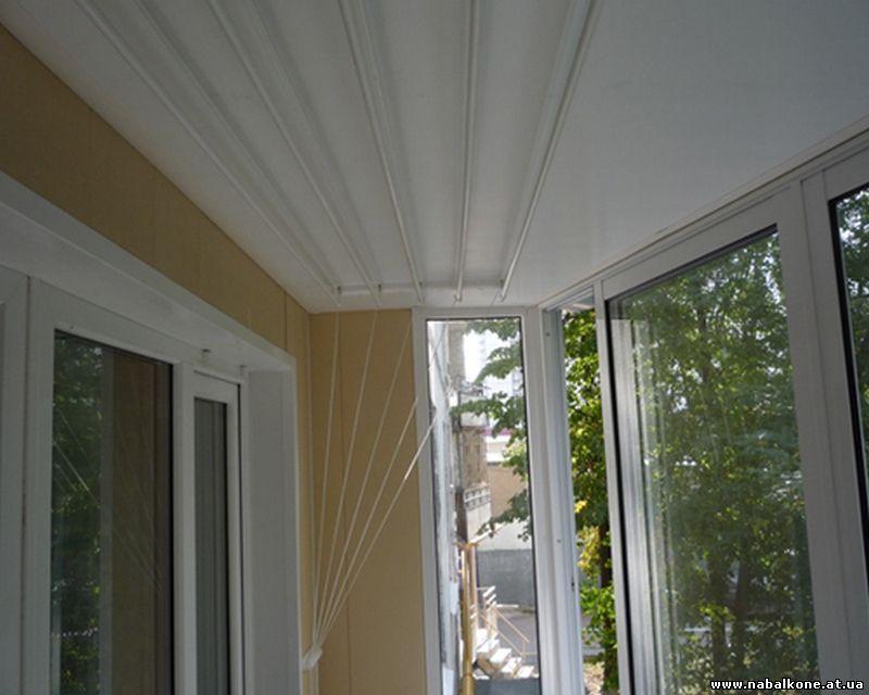 "Сушилка для белья на балкон и лоджию компания ""окна борна""."